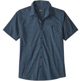 Patagonia Go To Shirt Herren space micro/stone blue